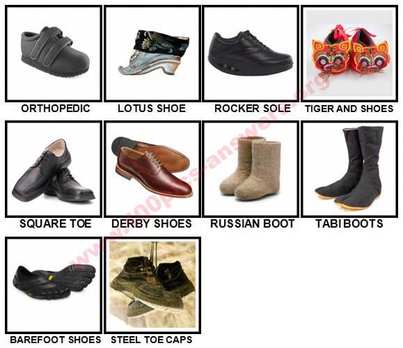 premium selection a33d7 f7e73 100 Pics Footwear Level 81-90 Answers | 100 Pics Answers