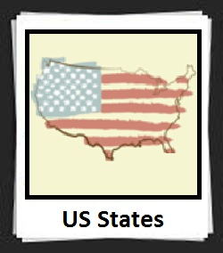 100 Pics US States Answers