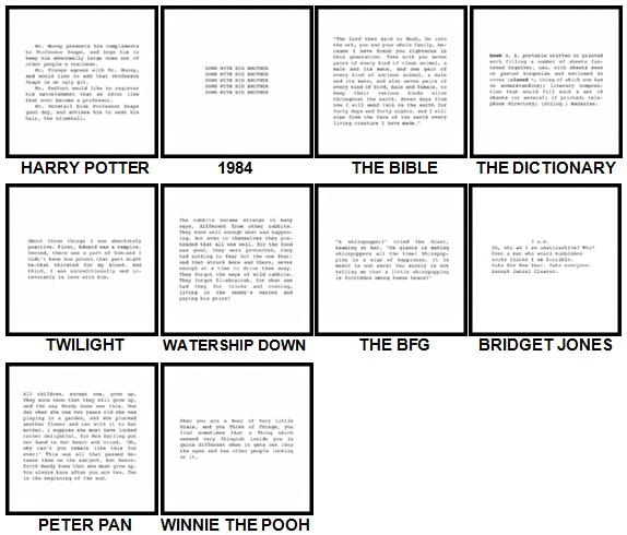 100 Pics Books Level 1-10 Answers