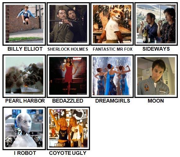 100 Pics 2000s Movies Level 41-50 Answers