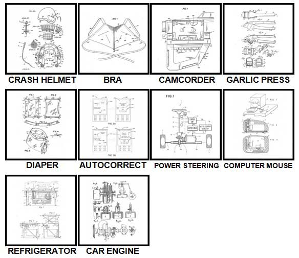 100 Pics Patents Level 51-60 Answers