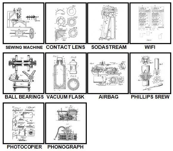 100 Pics Patents Level 81-90 Answers