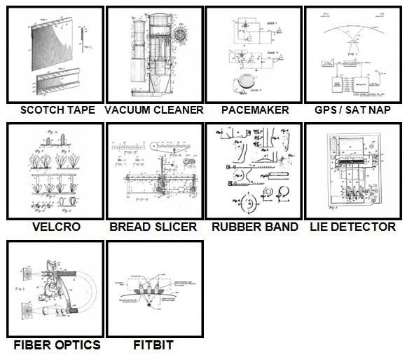 100 Pics Patents Level 91-100 Answers