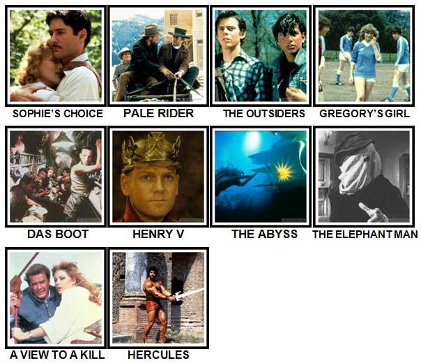 100 Pics 80s Movies Level 71 80 Answers 100 Pics Answers