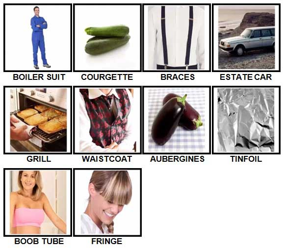 100 Pics British Speak Level 51-60 Answers