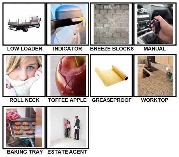 100 Pics British Speak Level 71-80 Answers