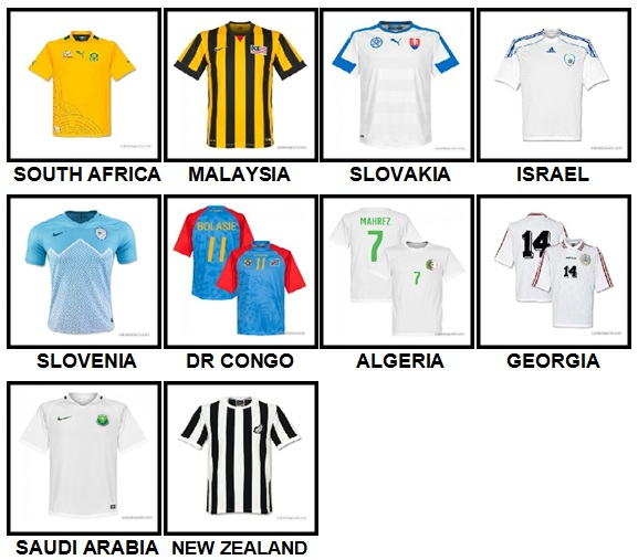 100 Pics Soccer World Level 71-80 Answers