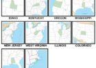 100 Pics US States Level 21-30 Answers