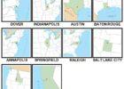100 Pics US States Level 61-70 Answers