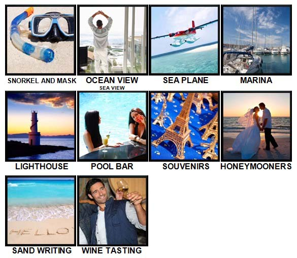 100 Pics Vacations Level 71-80 Answers