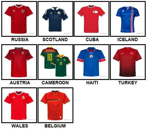100 Pics Football World Level 21-30 Answers