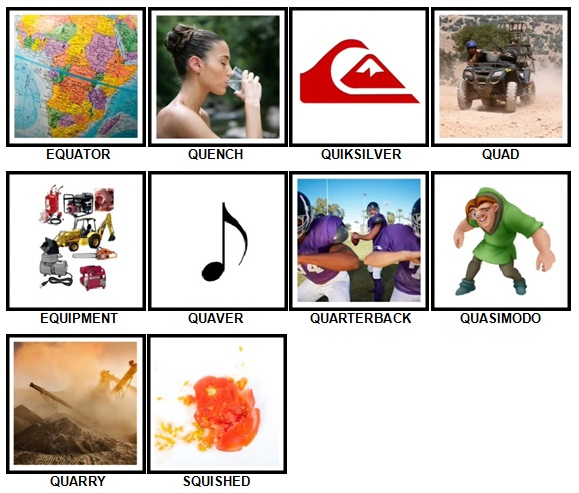 100 Pics Q is In Level 21-30 Answers