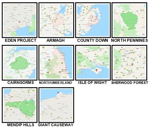 100 Pics UK Places Level 71-80 Answers