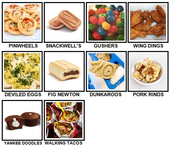 100 pics snacks level 91 100 answers 100 pics answers 100 pics answers