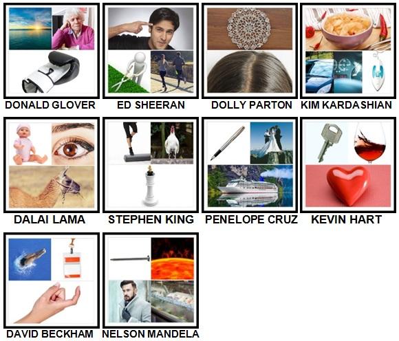 100 Pics Who am I Level 61-70 Answers