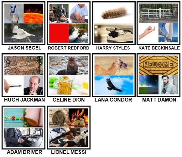 100 Pics Who am I Level 71-80 Answers