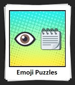 100 Pics Emoji Puzzles Answers