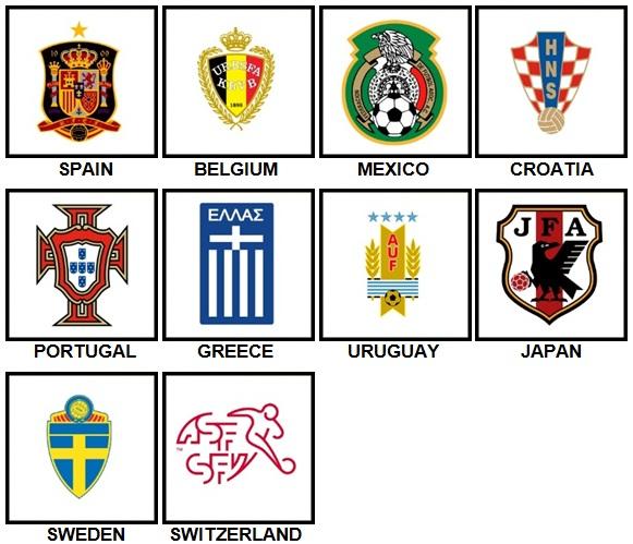 100 Pics Made Football Nation Level 11-20 Answers