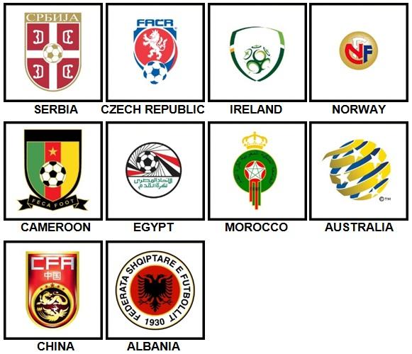 100 Pics Made Football Nation Level 21-30 Answers